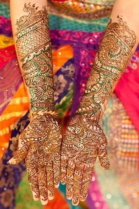 Beautiful Henna Tattoos (47 pics)