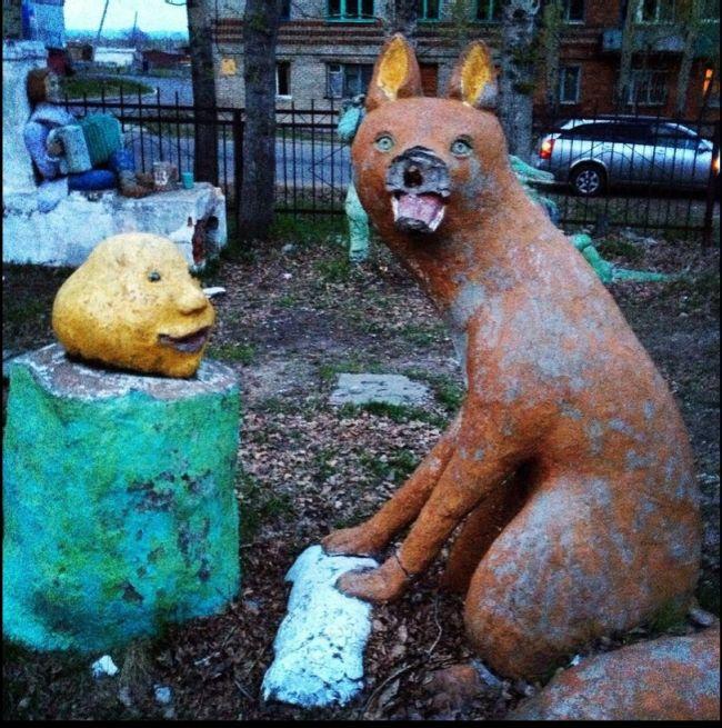 Scary Playground (9 pics)