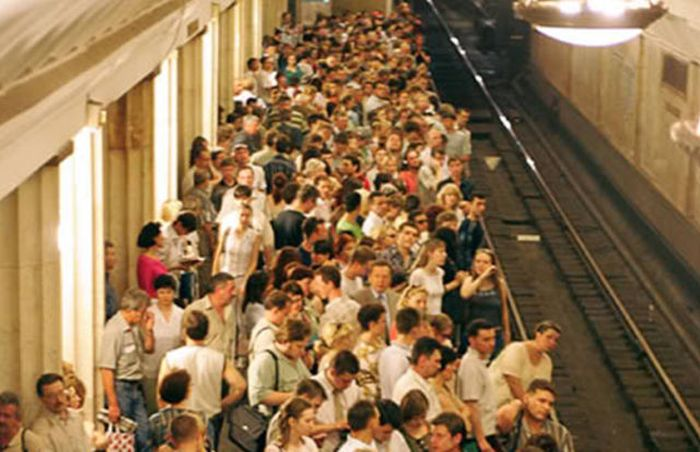 The World's Most Crowded Places (32 pics)