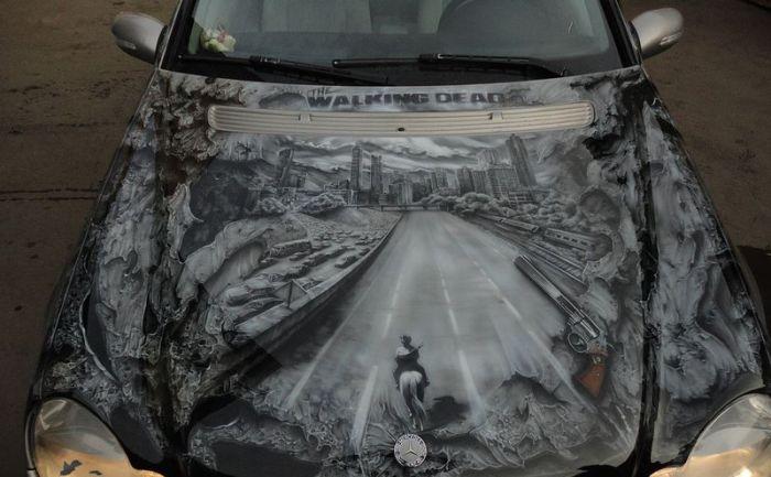 Walking Dead Airbrush (12 pics)