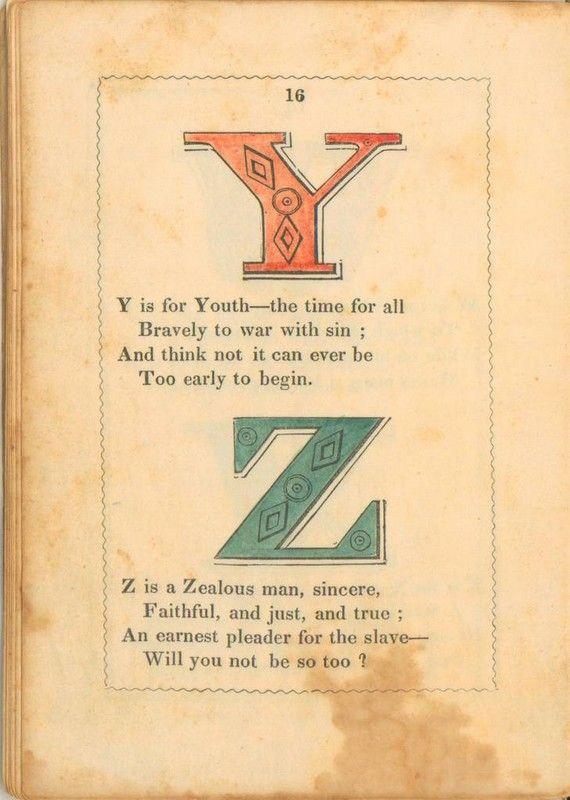 The Anti-Slavery Alphabet (15 pics)