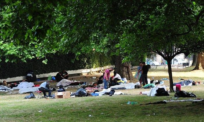 London Occupied by Gypsies (15 pics)
