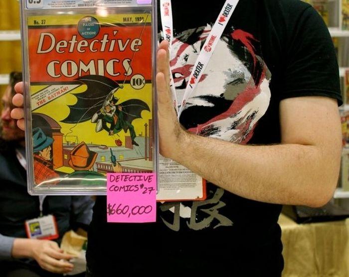 The Most Expensive Comic Books At Comic-Con (3 pics)