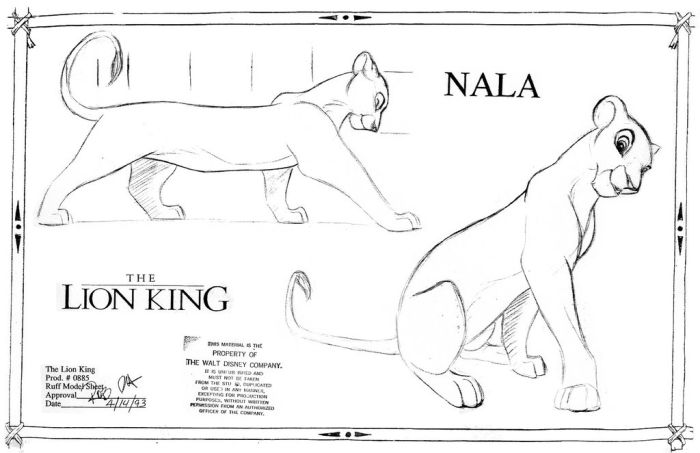 The Lion King Concept Arts (64 pics)