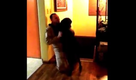 Dog is Very Happy to See His Owner after 6 Months