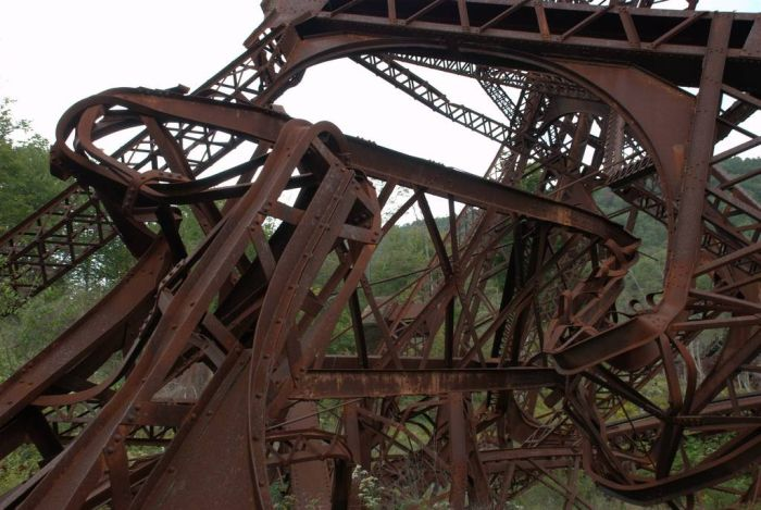 Kinzua Bridge (18 pics)