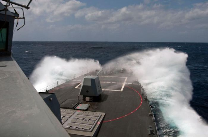Navy vs Waves (61 pics)