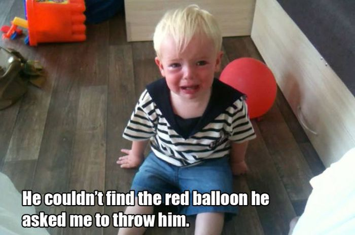 Reasons Kids Cry (32 pics)