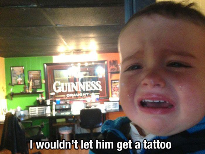 Reasons Kids Cry (32 pics)