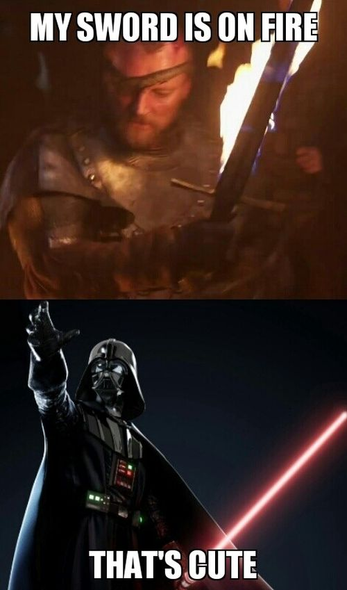 """Star Wars"" Vs. ""Game Of Thrones""  (11 pics)"