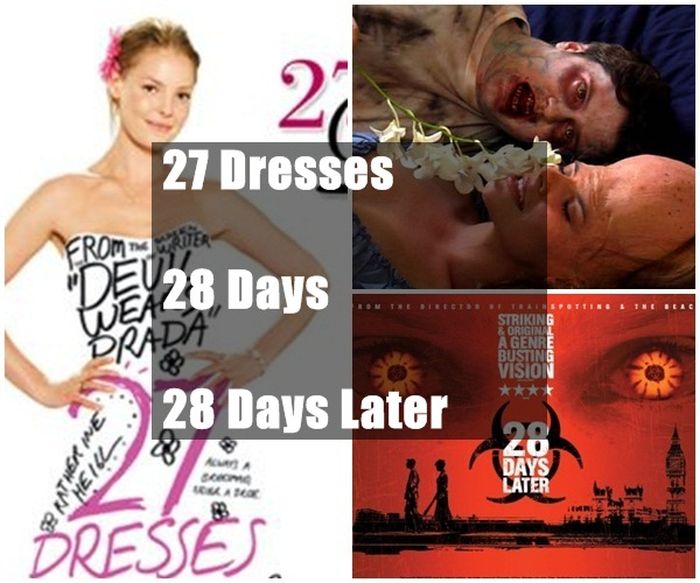 Confusing Similar Movie Titles (20 pics)