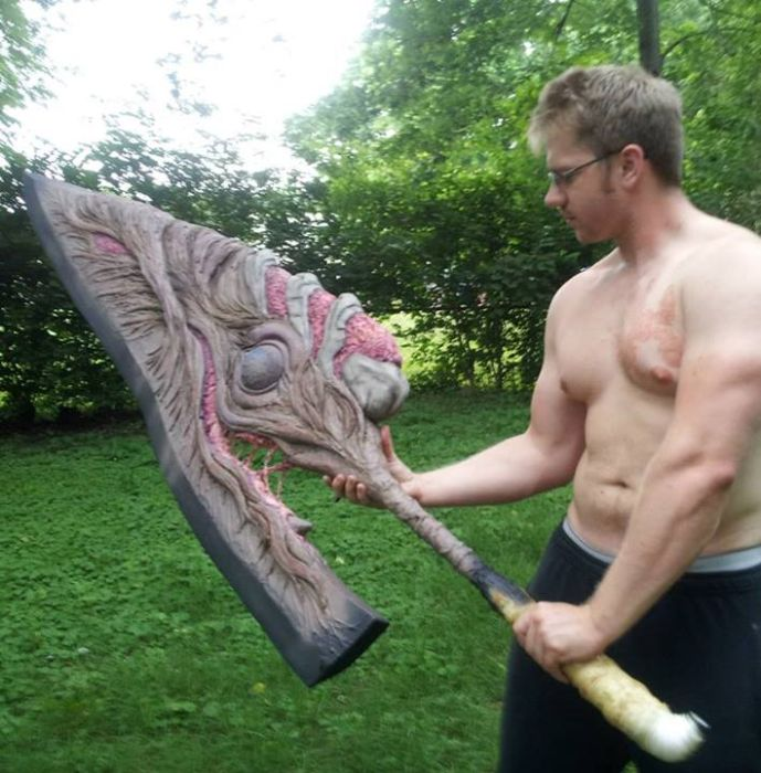 Full Size Nightmare's Soul Edge from Soul Calibur 5 (64 pics)