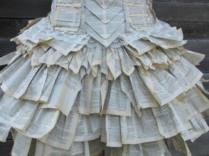Book Dress (6 pics)