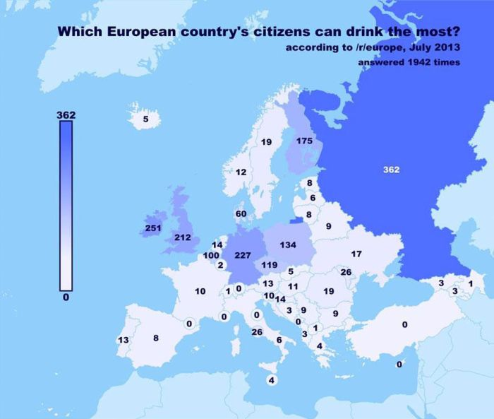European Redditors Chose Their Favorite Countries (6 pics)