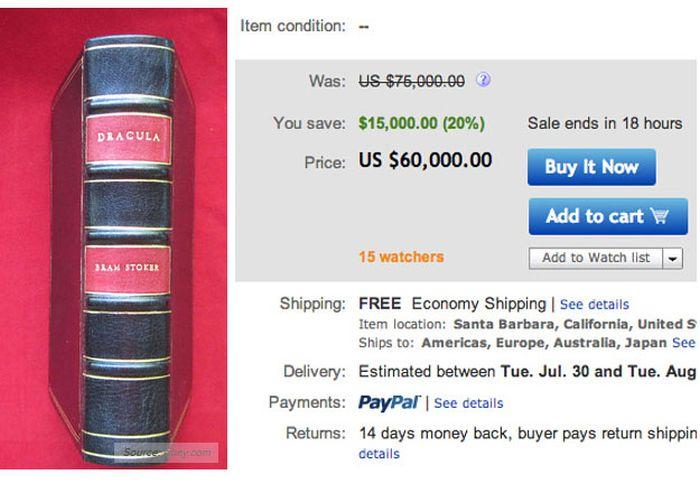 Very Expensive Books (18 pics)