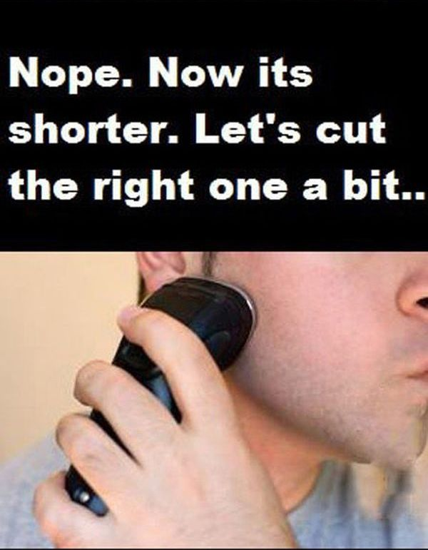 Shaving Fail (6 pics)