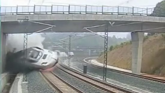 High Speed Train Crash in Spain