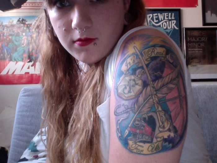 Harry Potter Tattoos (28 pics)