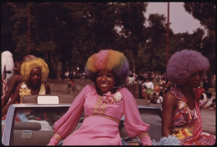 Black Life in Chicago in the '70s (40 pics)