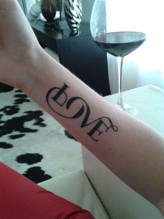 Typography Tattoos (67 pics)