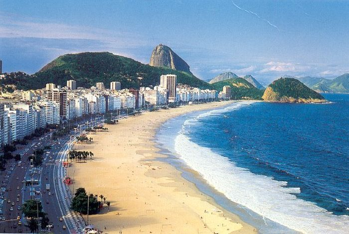 Copacabana Beach, July 2013 (3 pics)