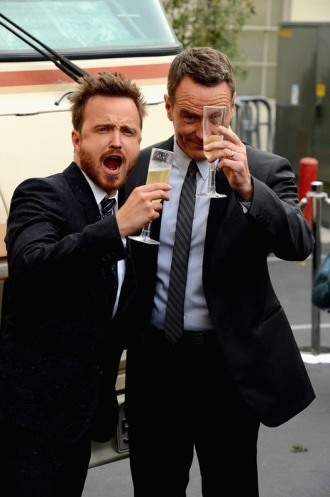 "The ""Breaking Bad"" Cast Celebrates the Final Episodes (14 pics)"