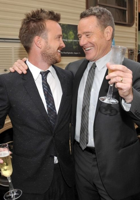 """The """"Breaking Bad"""" Cast Celebrates the Final Episodes (14 pics)"""