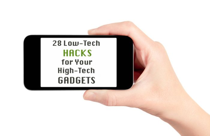 Low-Tech Hacks for High-Tech Gadgets (29 pics)