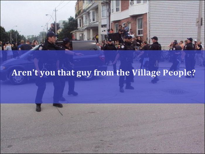 Avoid Saying These Things to a Police Officer (20 pics)