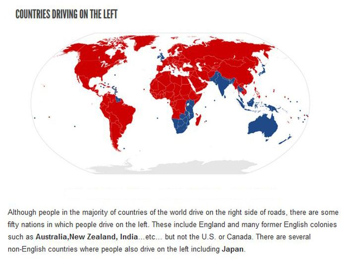 Interesting Facts about Different Countries (14 pics)