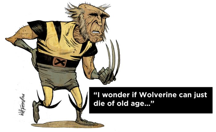 How to Kill Wolverine (12 pics)