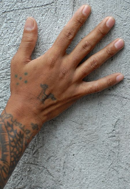 Gang With Three Dots On Hand: Prison Tattoos (15 Pics
