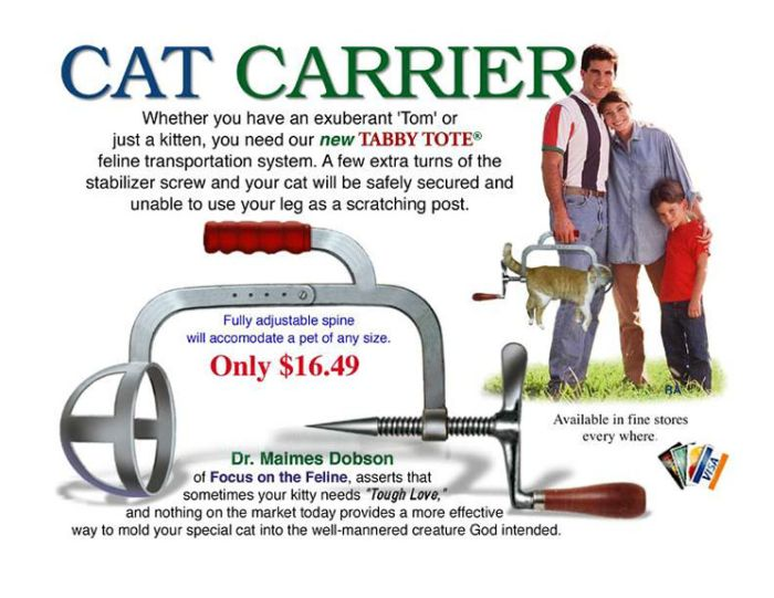 Cat Carrier Exists (3 pics)