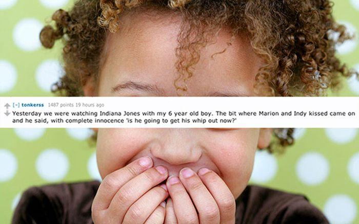 Funny Things Kids Say (15 pics)