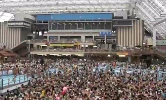 Swimming Pool in Japan