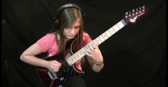 14-Year-Old Girl Playing 'Vivaldi Tribute'
