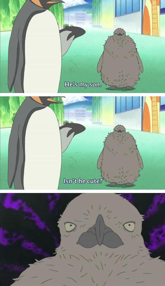 Weird Anime Moments. Part 3 (22 pics)