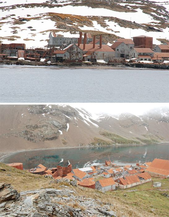 Abandoned Places of Antarctica (18 pics)
