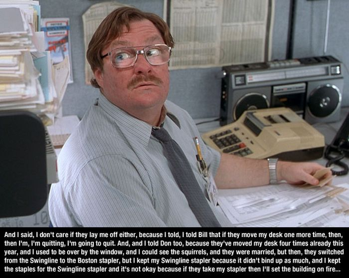 Office Space Quotes (10 pics)