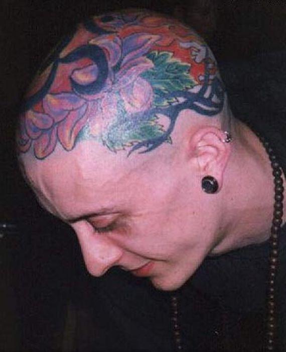 Head Tattoos (67 pics)