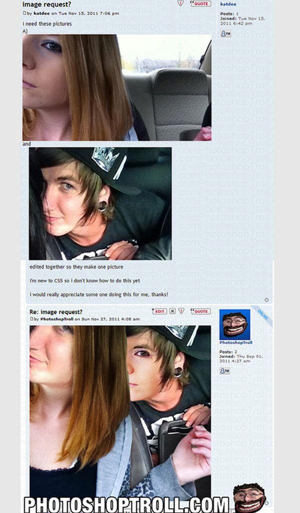 Photoshop Trolls (20 pics)