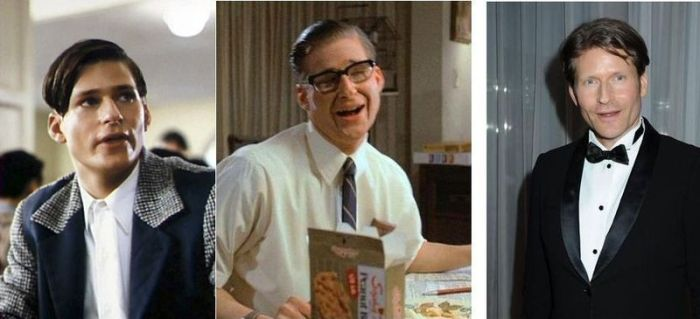 Back to the Future Cast. Young, 30+ Years Makeup and Now (5 pics)