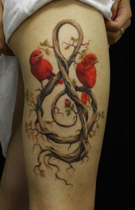 Beautiful Nature Tattoos (49 pics)