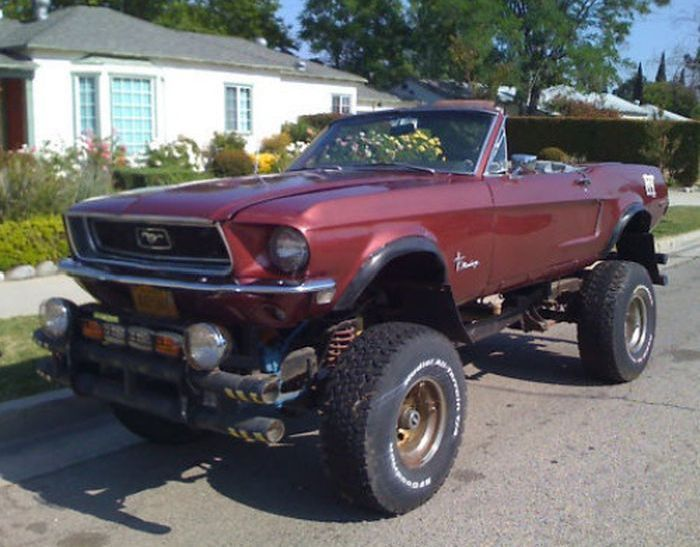 Muscle Cars 4x4 40 Pics