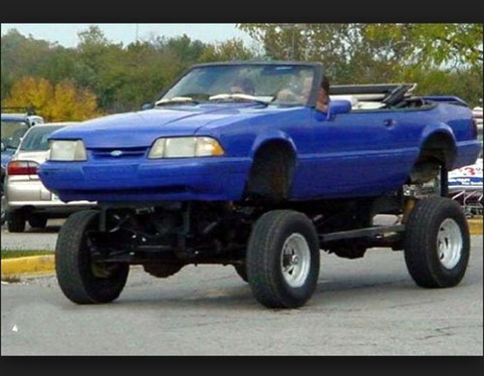 Muscle Cars 4x4 (40 pics)