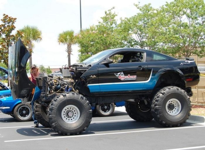 Muscle Cars 4x4 (40 pics)
