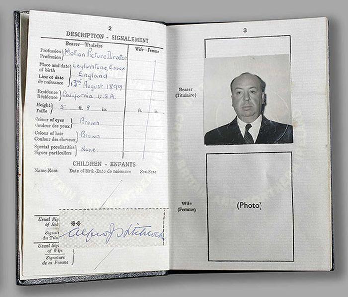 Vintage Celebrity Passport Photos (14 pics)