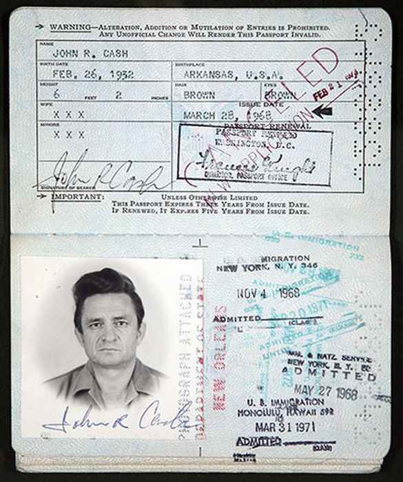 Vintage Celebrity Passport Photos (14 pics)