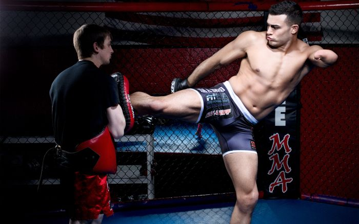 One-Armed Fighter Nick Newell (16 pics)