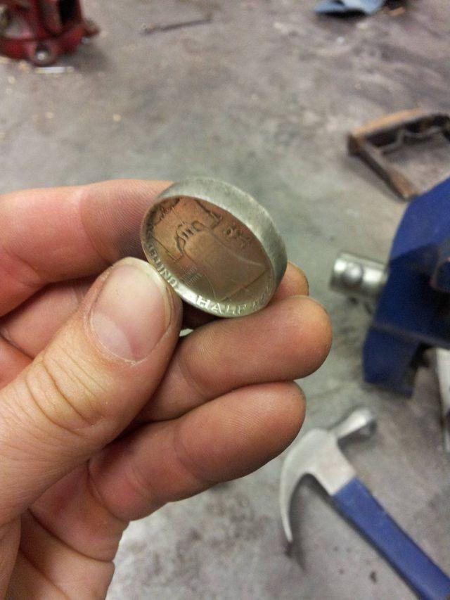 DIY Coin Rings (26 pics)